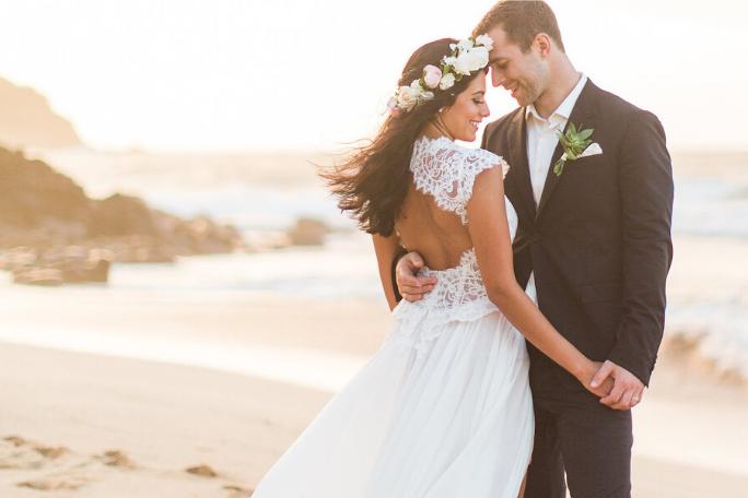 Най - добрите места за сватба на морето, на брега, сватба на плажа.