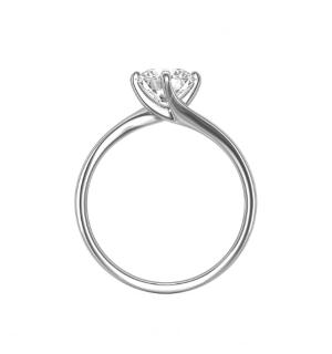 Златен годежен пръстен Glamarous с диамант