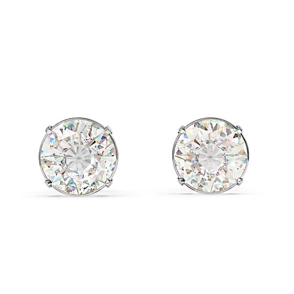 Елегантни обеци от злато с диаманти Luna.