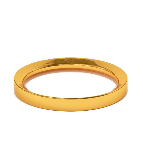 Златна сватбена халка Classic за нея и него